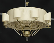 Exquisite light yellow pendant lamp