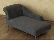 Grey single comfortable recliner sofa