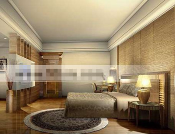 Luxury European Style Master Bedroom 3d Model Download