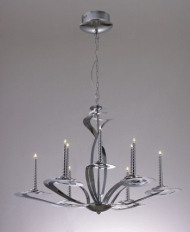 European style small iron chandelier