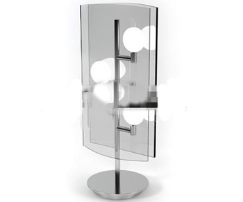 Fashion glass mirror table lamp