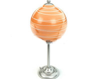Orange lollipop shape lamp