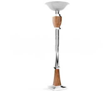 European style tray floor lamp