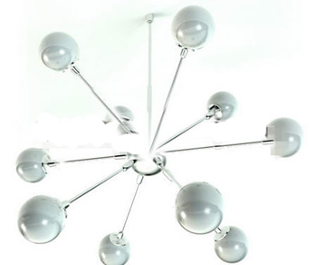 Ball-type radiation pendant lamp