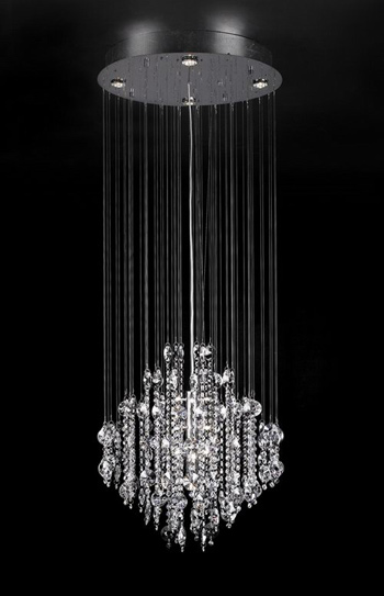 Modern style crystal glass chandelier