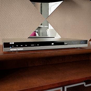 Modern Gümüş DVD 3D modeli