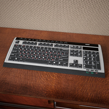 The computer keyboard 3D models