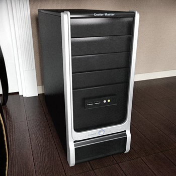 Bilgisayar ana 3D modeli