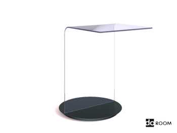 Fashion style glass desktop