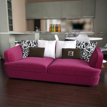Elegant Models Of Contemporary Sofa Modern Double Sofa 3D Model 3D Model Download Free 3D Models Download