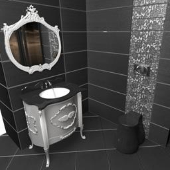 European bathroom 3D model