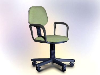 Office furniture model - swivel chair