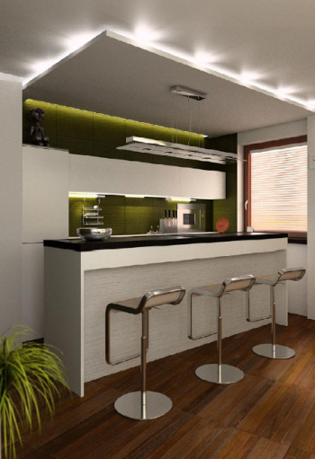 The foreign boutique restaurant 3D models