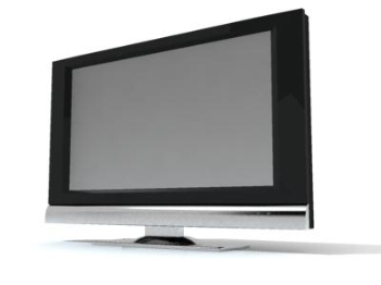 Ultra-thin TV model