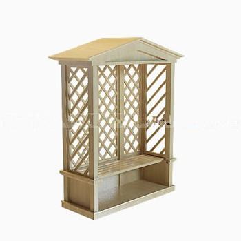3d model of a small park pavilion