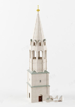 3d model white noble church