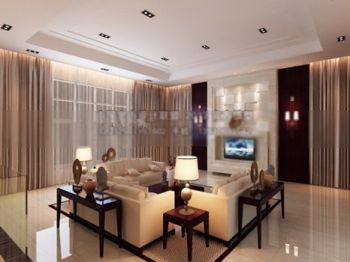 Spacious living space design