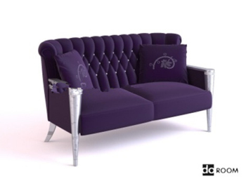 Purple sofa 3d models