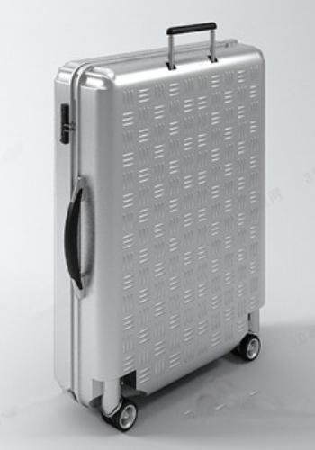 Silver Suitcase 3d Models 3d Model Download Free 3d Models