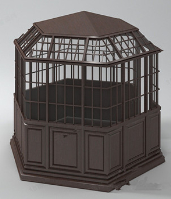 Enclosed pavilion 3d models