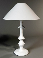 White table lamp 3d model