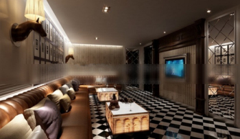 KTV luxury boxes 3d models