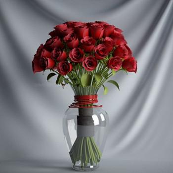 Red Rose 3d Model 3d Model Download Free 3d Models Download