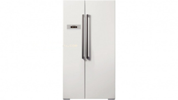 Luxury two-door refrigerator 3d model