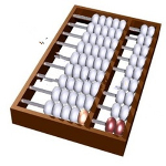 Accounting and abacus 3d models