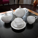 3d model of high-end white tea