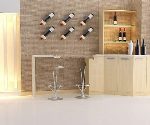 Elegant indoor bar 3d models