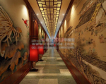 Chinese antiquity corridor 3d models