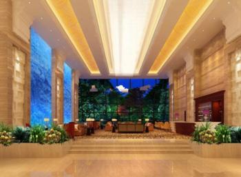 Hotel Lobby 3d models