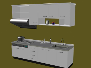 3D model of the whole cabinet