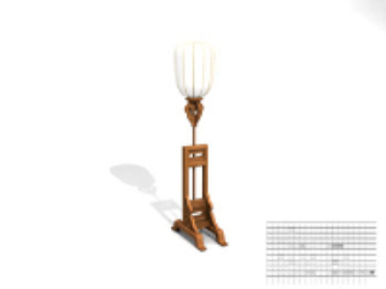 Classical charm table lamp