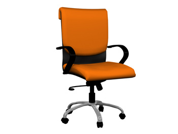 Modern simple and comfortable swivel chair
