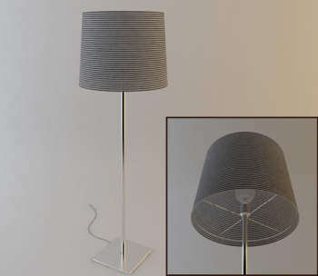 The household utility table lamp 3D models