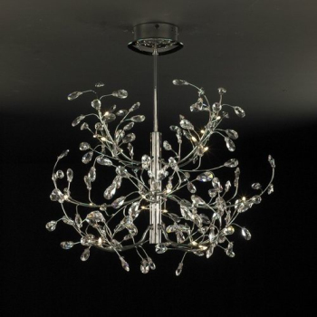 3D models of European modern crystal chandeliers