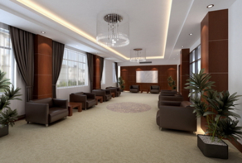 Office reception room 3D model