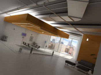 Office space, meeting rooms 3D model