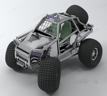 Off-road vehicle model