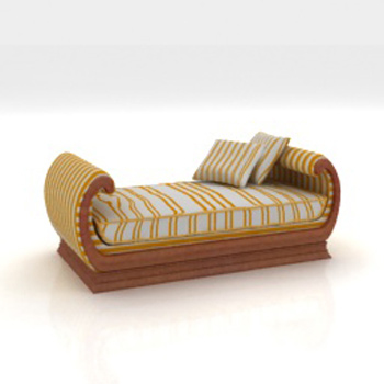 The Arab style loungers 3D model