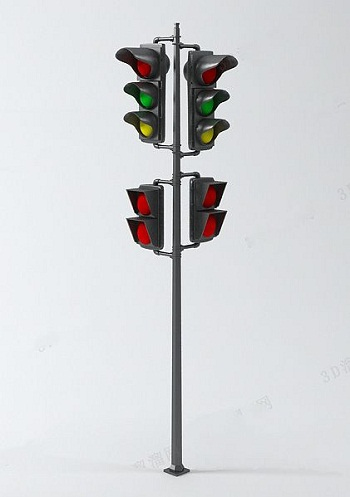 Traffic Light Model 3d Model Download Free 3d Models Download