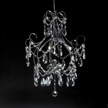 European Ultra Modern Crystal Chandelier 3d Model Download