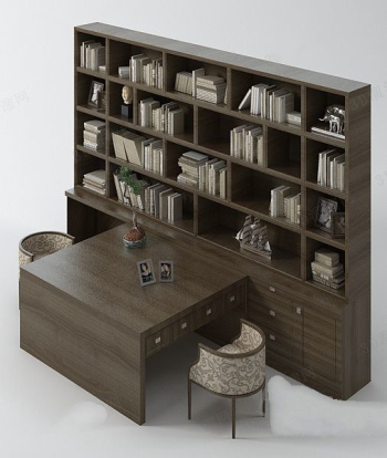 Fashion bookcase model