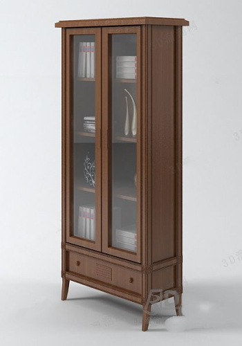 Simple the bookcases model (four)