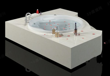 Luxury bath model