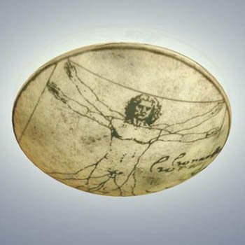 Leonardo da Vinci paintings disc