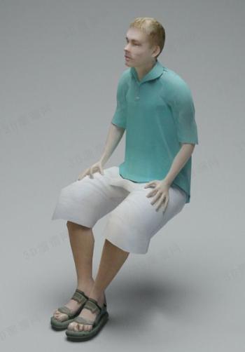 Men Sitting Model 3d Model Download Free 3d Models Download
