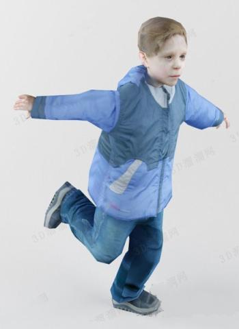 Jumping Kids Model 3d Model Download Free 3d Models Download